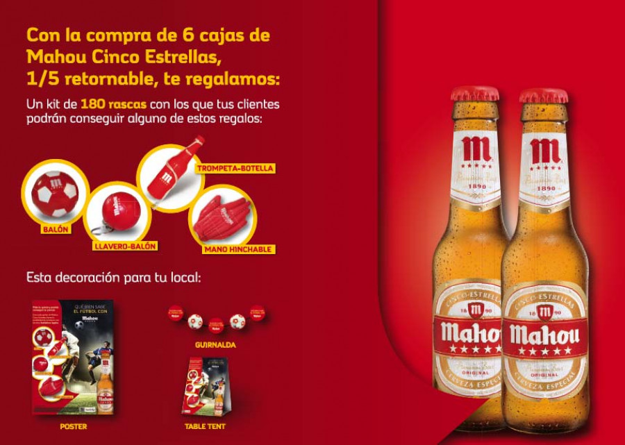 Disfruta del Mundial y ofrece los mejores regalos a tus clientes - Hostelería Madrid