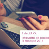 Se acerca julio ¿Preparado para los impuestos del II Trimestre y el de Sociedades? - Hostelería Madrid