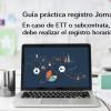 Guía Práctica sobre Registro de Jornada (II): En el caso de trabajadores cedidos, ¿Quién está obligado a hacer el registro? - Hostelería Madrid