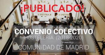 Publicado el Convenio Colectivo de Hostelería 2018-2020 - Hostelería Madrid