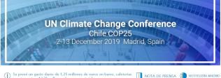 LA CUMBRE DEL CLIMA DEJARÁ MÁS DE 13 MILLONES DE EUROS EN LA HOSTELERÍA DE MADRID - Hostelería Madrid