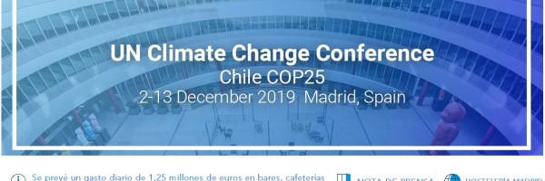 LA CUMBRE DEL CLIMA DEJARÁ MÁS DE 13 MILLONES DE EUROS EN LA HOSTELERÍA DE MADRID
