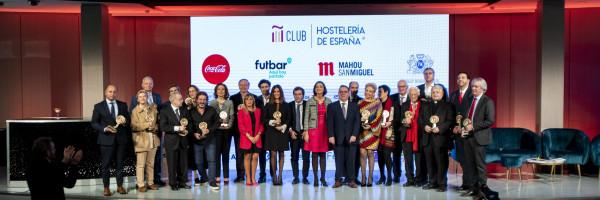 Los Premios Nacionales de Hostelería reconocen a 16 figuras y proyectos por su compromiso con áreas como la innovación, la RSC y la sostenibilidad