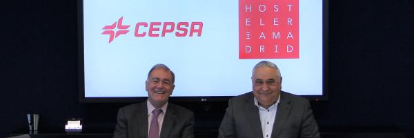 Cepsa y Hostelería Madrid firman un acuerdo para optimizar el consumo de luz, gas y carburante en la hostelería