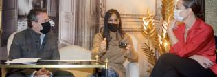 """La vicealcaldesa de Madrid, Begoña Villacís, en apoyo a la campaña `Reinventamos la Navidad: """"El sector hostelero necesita una inyección directa no más paliativos"""" - Hostelería Madrid"""