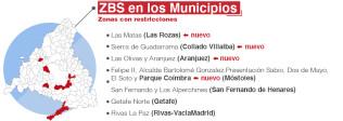 La Comunidad de Madrid amplía las restricciones a 6 nuevas ZBS y 5 nuevos municipios - Hostelería Madrid