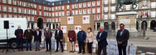 Hostelería Madrid entrega las primeras cajas de menaje donado para comedores sociales - Hostelería Madrid