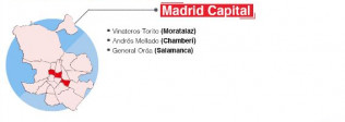 La CAM mantiene limitaciones en entrada y salida en una localidad y en 17 ZBS - Hostelería Madrid