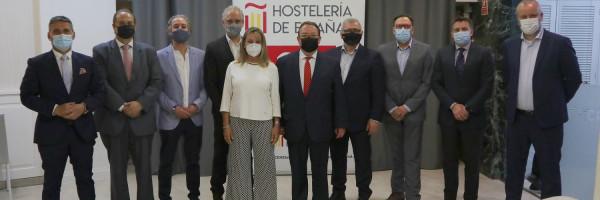 José Luis Yzuel reelegido Presidente de Hostelería de España