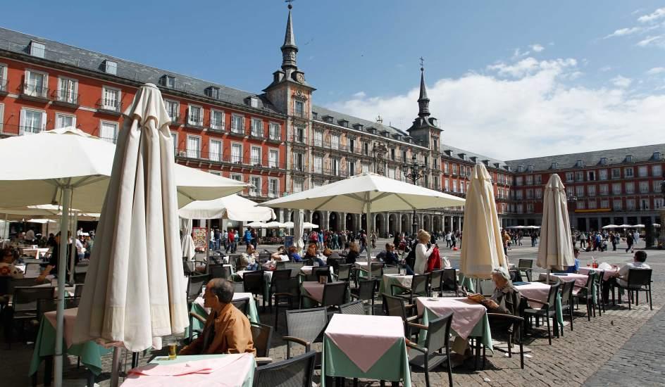 Madrid Terrazas Invierno