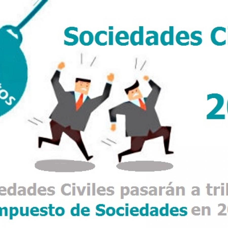 Novedades para las Sociedades Civiles en 2016 - Hostelería Madrid