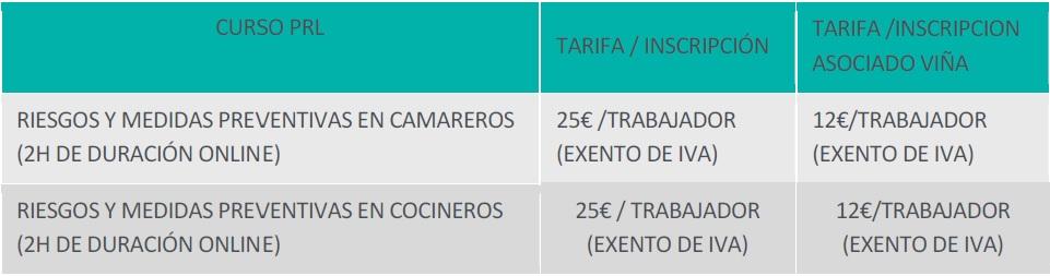 TarifasCURSOS-PRL-1-Quiron2018
