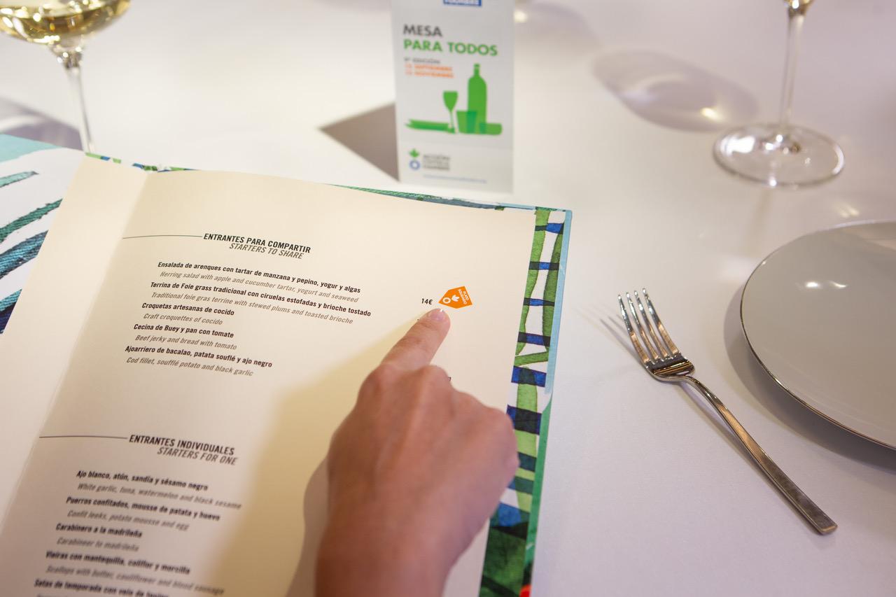 Disfruta de tu ocio de forma solidaria en más de un millar de restaurantes - La Viña