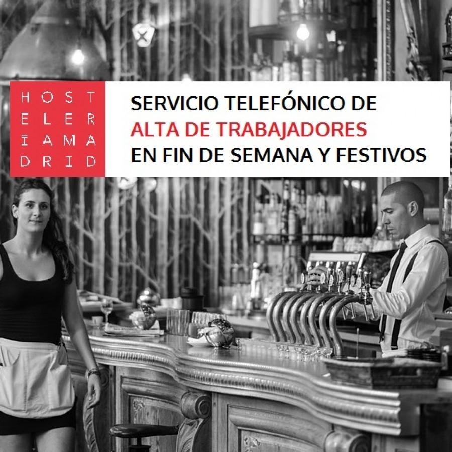 Se acercan días festivos y con hostelería Madrid puedes dar de alta a tus trabajadores todos los días! - Hostelería Madrid