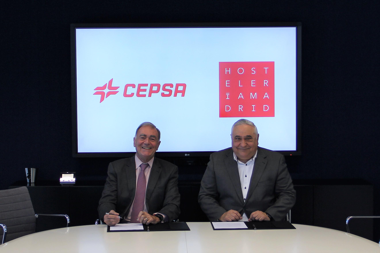 Cepsa y Hostelería Madrid firman un acuerdo para optimizar el consumo de luz, gas y carburante en la hostelería - La Viña