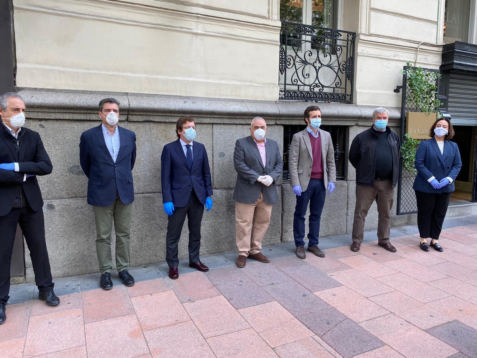Hostelería Madrid se reúne con Pablo Casado y José Luis Almeida para pedir flexibilidad en los ERTE y en las terrazas - La Viña