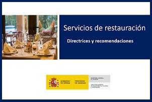 Guía del ICTE de prevención del COVID en los servicios de restauración - Hostelería Madrid