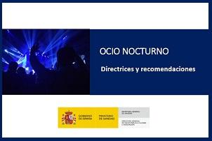 Guía del ICTE de prevención del COVID en los locales de ocio nocturno - Hostelería Madrid