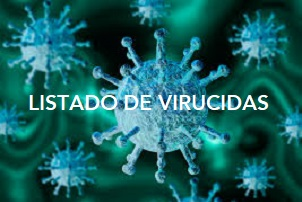Listado de virucidas autorizados por el Ministerio de Sanidad - Hostelería Madrid