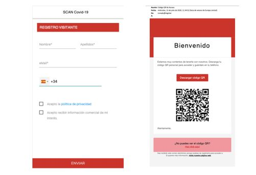 SCAN COVID-19: La solución para monitorizar y gestionar los accesos a establecimientos y espacios - La Viña