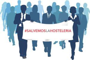 Acciones de denuncia de Hostelería Madrid en defensa de la hostelería del Centro - Hostelería Madrid