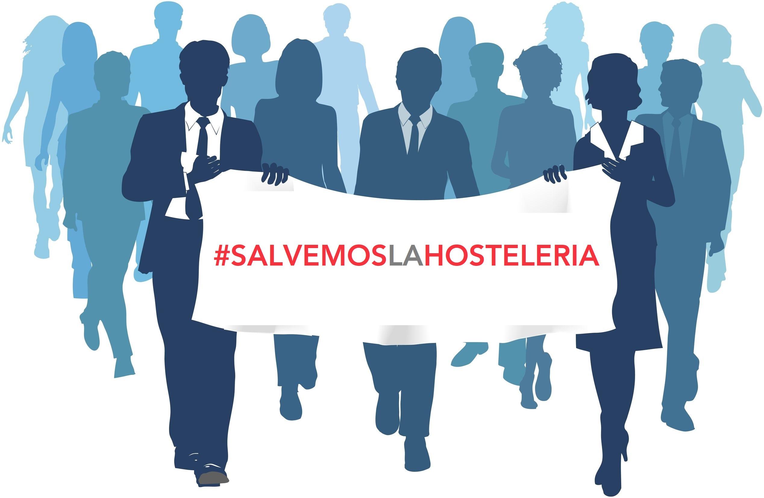 Acciones de denuncia de Hostelería Madrid en defensa de la hostelería del Centro - La Viña