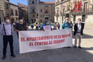 Las Pymes culpabilizan a Medio Ambiente de torpedear la campaña municipal para salvar a las pymes hosteleras de la crisis del coronavirus - Hostelería Madrid
