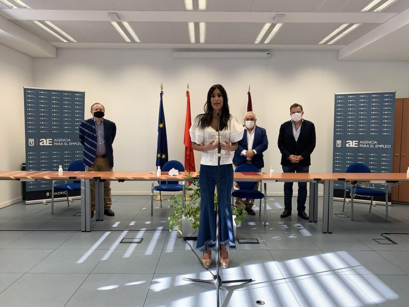 Hostelería Madrid acuerda con la Agencia de Empleo potenciar la formación cualificada en hostelería - La Viña