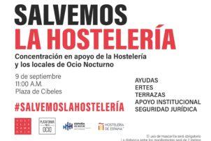 La Hostelería se concentra para salvar al sector - Hostelería Madrid
