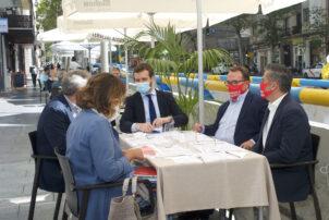 Pablo Casado participa en el Comité Ejecutivo de Hostelería de España - Hostelería Madrid
