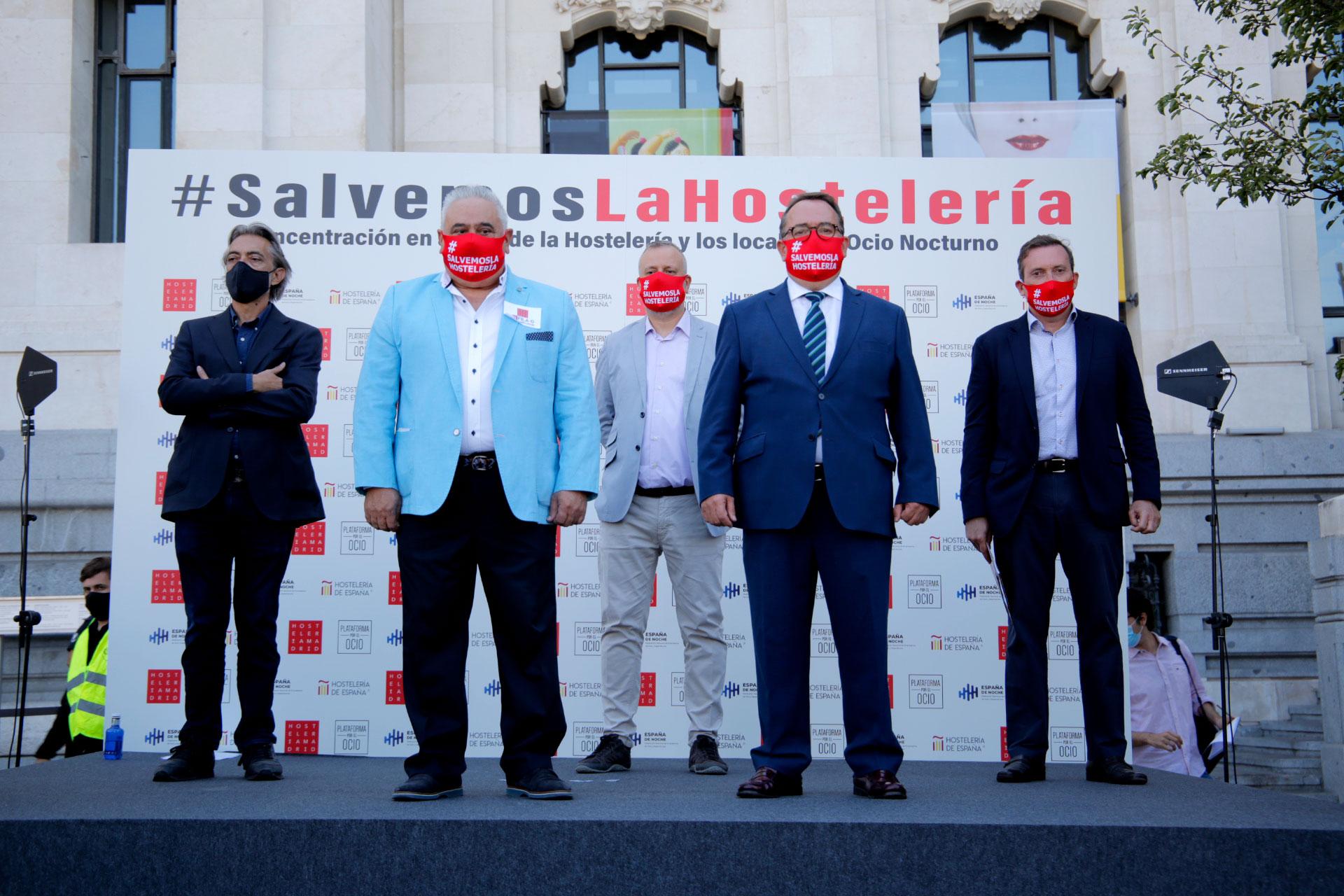 """Hostelería España: los hosteleros  consideran que el plan aprobado por el gobierno """"es insuficiente y queda muy lejos de las ayudas directas de otros países europeos"""" - La Viña"""