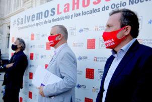 Almeida concede la bonificación del 100% de la tasa de terrazas tras la concentración de protesta de ayer - Hostelería Madrid