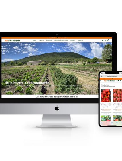 HarBest Market, la nueva plataforma que permite comprar a los restaurantes directamente a pequeños agricultores en origen.