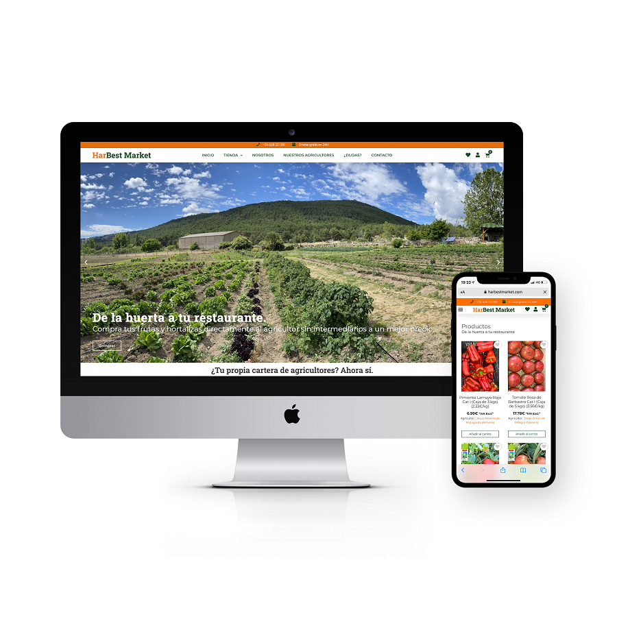 HarBest Market, la nueva plataforma que permite comprar a los restaurantes directamente a pequeños agricultores en origen. - La Viña