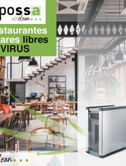 Inpossa Airclean ofrece el sistema ActivePure® que neutraliza hasta el 99,7% de virus y bacterias en el aire y superficies