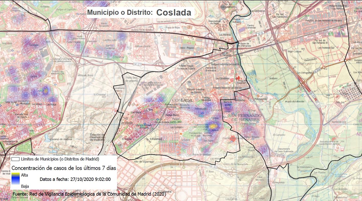 La Comunidad de Madrid confina tres nuevas zonas básicas de salud del 2 al 15 de noviembre - La Viña