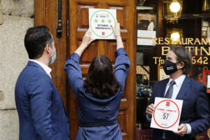 Díaz Ayuso presenta las nuevas medidas obligatorias para hostelería - Hostelería Madrid