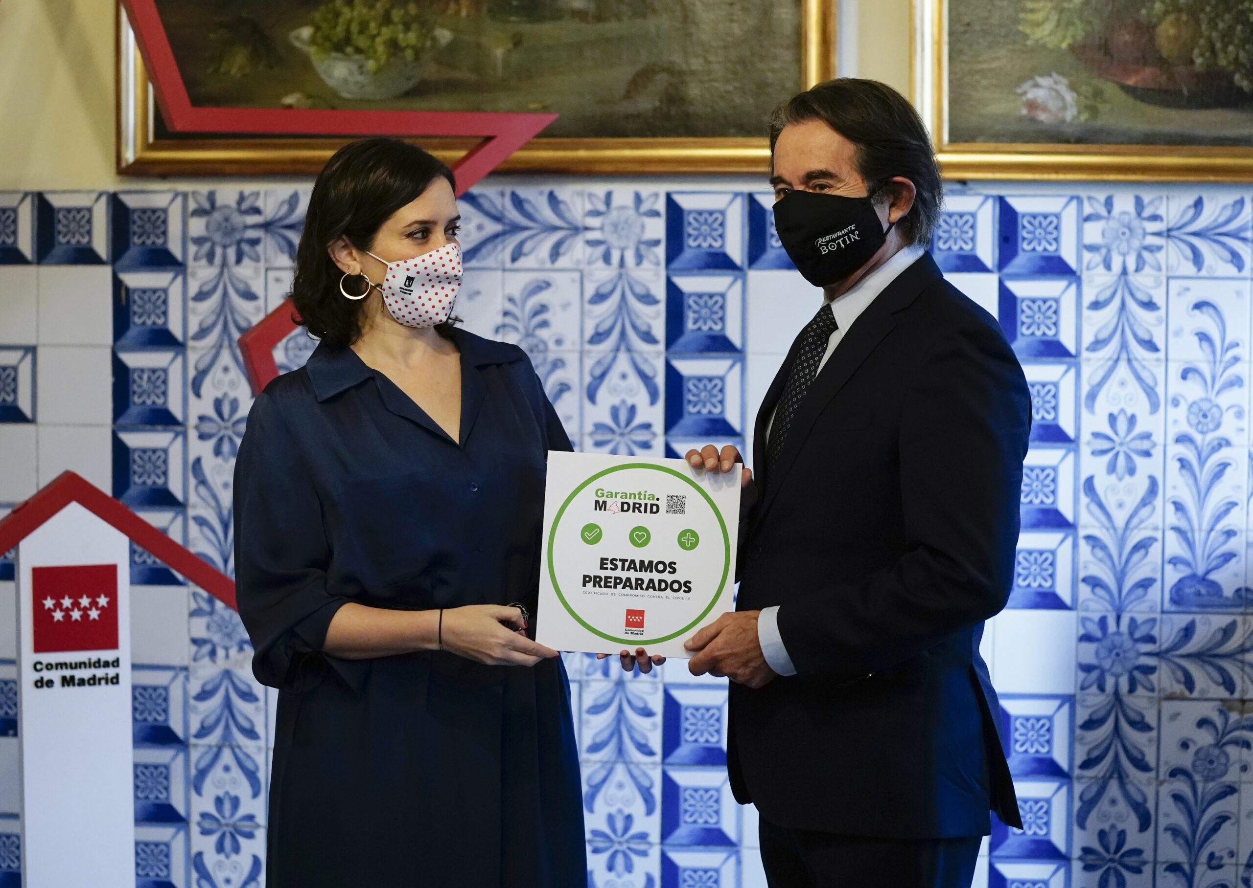 La Comunidad ha reconocido ya a 400 organizaciones en 50 municipios con el sello Garantía Madrid - La Viña