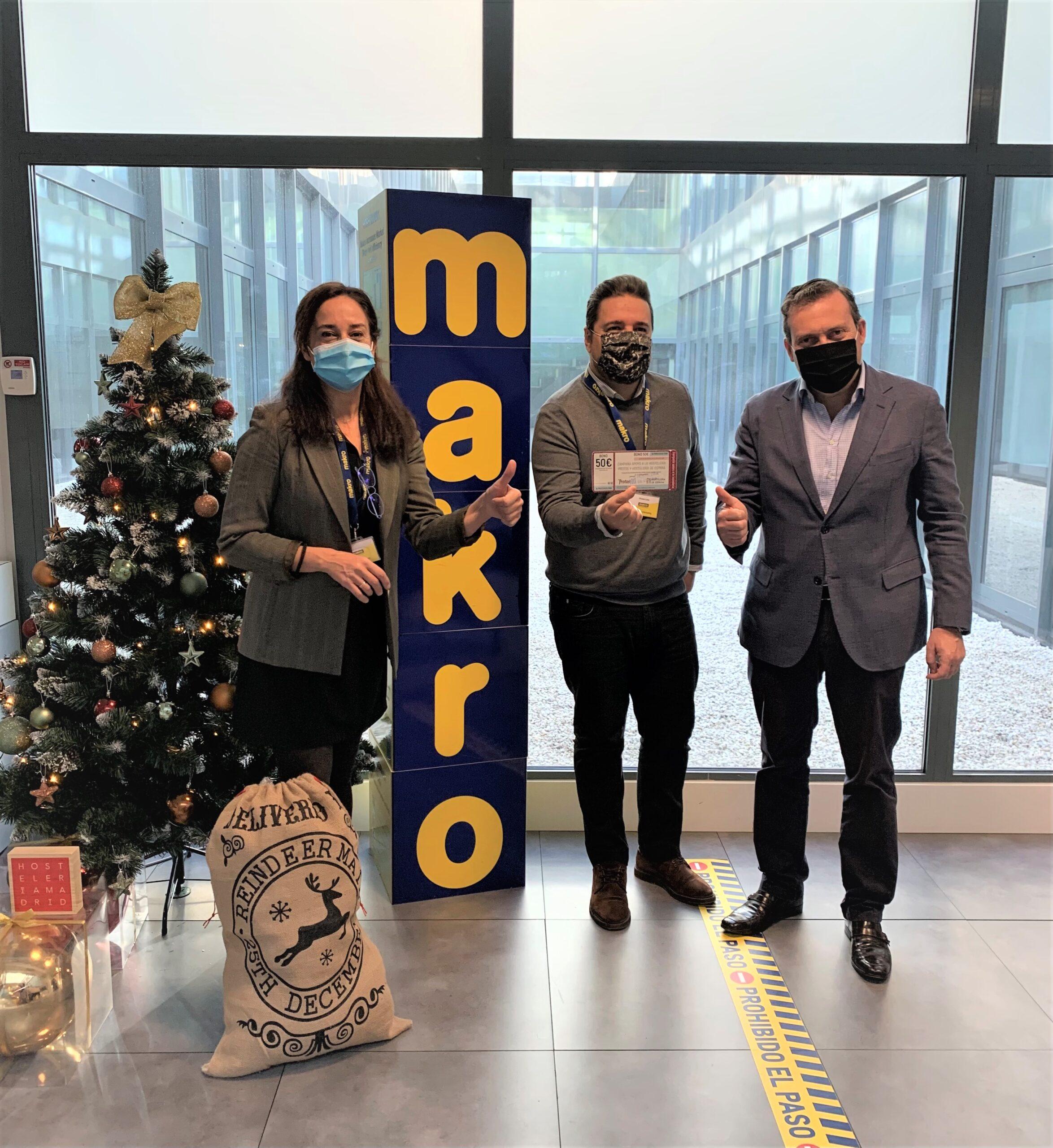 Hostelería Madrid selecciona a Makro y QuironPrevención para recibir bonos regalo para consumir en la hostelería - La Viña