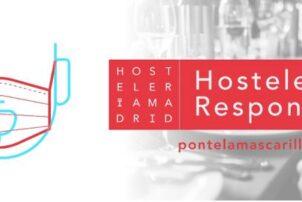 Hostelería Madrid pone en marcha la iniciativa hostelería responsable para concienciar a los clientes sobre el uso de la mascarilla - Hostelería Madrid