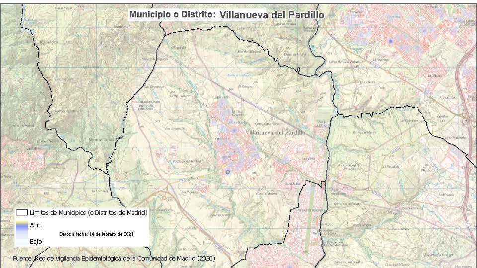 Se introducen limitaciones de movilidad en Moratalaz y Villanueva del Pardillo, y se levantan las restricciones en 31 ZBS y siete localidades - La Viña