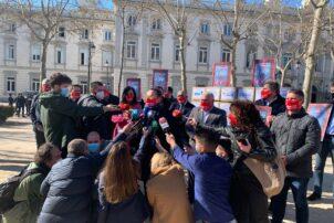 Hostelería Madrid participa en la protesta ante el Supremo - Hostelería Madrid