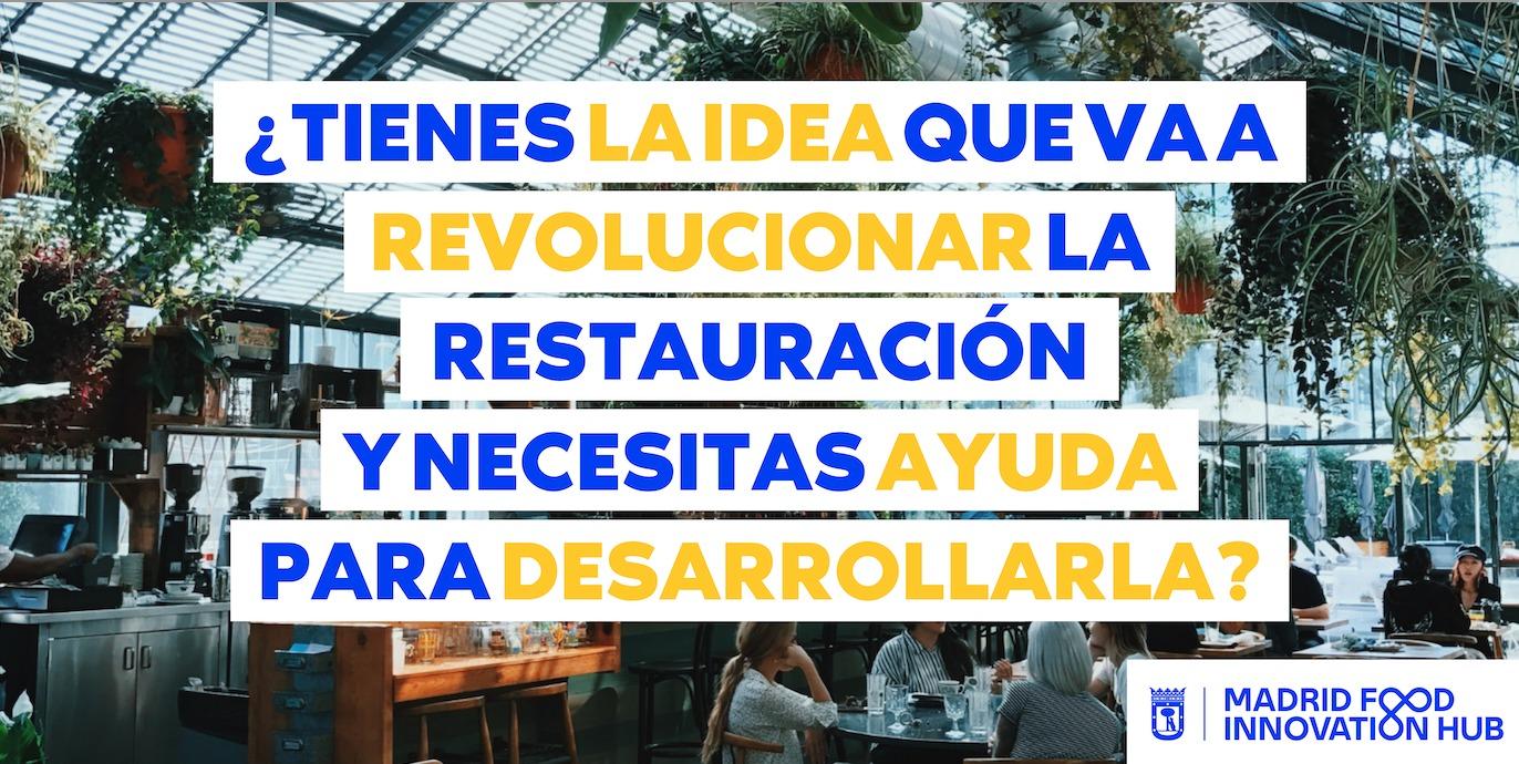 Madrid Food Innovation Hub lanza el primer programa de incubación para HORECA de la capital - La Viña